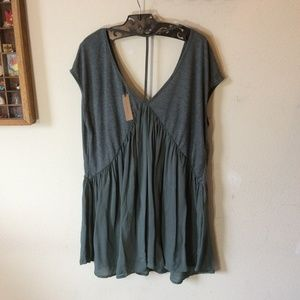 Anthropologie Tops - CONSIGNMENT Anthropologie Meadow Rue Flowy Tunic